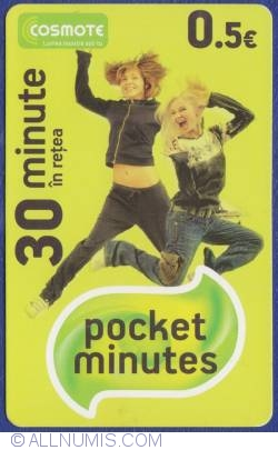 0.5 Euro - Pocket minutes (Expires on 21/11/2015)