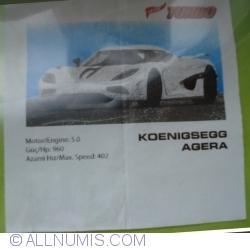 Imaginea #1 a Koenigsegg Agera