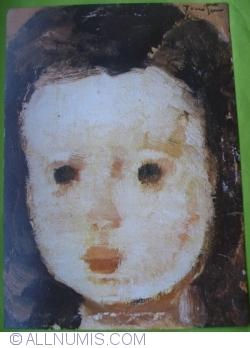 Nicolae Tonitza - Head of a Child