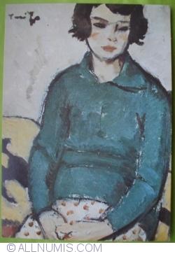 Imaginea #1 a Nicolae Tonitza - Nina în verde