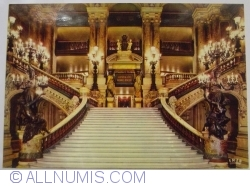 Theatre of the Opera. The grand staircase (Théâtre de l'Opera. L'escalier d'honneur)