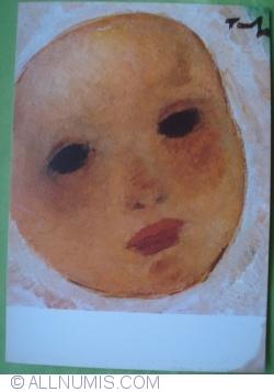 Imaginea #1 a Nicolae Tonitza - Cap de copil cu bonetă albă