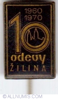 Image #1 of Odevy Žilina, 1960-1970