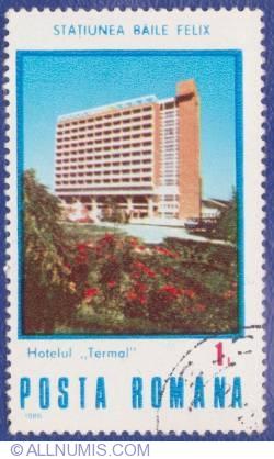 1 Leu - Staţiunea Băile Felix - Hotel Termal