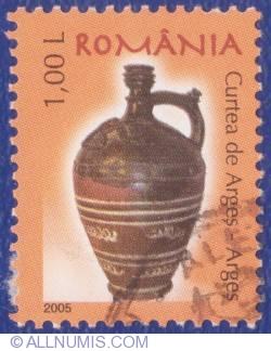 1 Leu 2005 - Ceramică românească - Curtea de Argeş (Argeş)