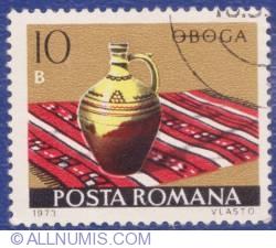 10 Bani - Ceramică românească - Oboga