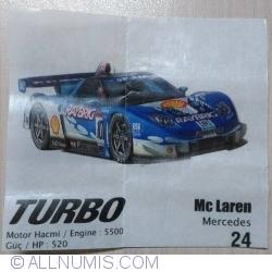 24 - Mc Laren Mercedes