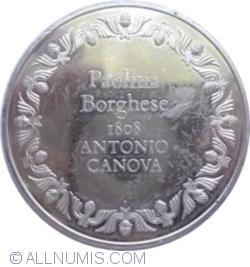 Imaginea #2 a Paolina Borghese de Antonio Canova