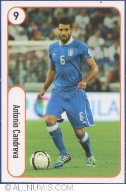9 - Antonio Candreva