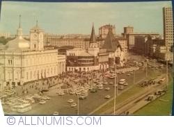 Moscova - Piaţa Komsomolskaya (1979)