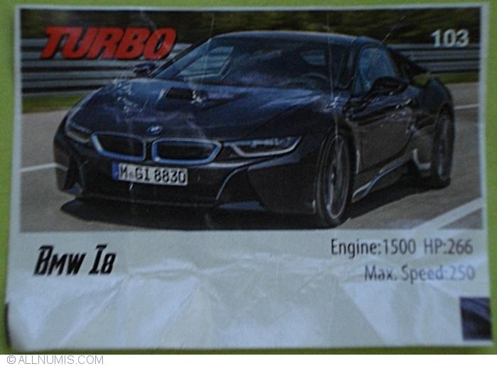 103 Bmw I8 Turbo 2015 Turbo Chewing Gum Insert 37548