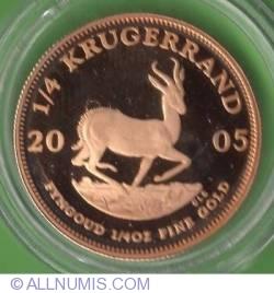 1/4 Krugerrand 2005
