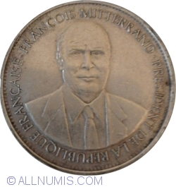 Image #1 of François Mitterrand's 21st president of the Republic