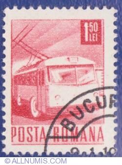 1.50 Lei - Trolleybus