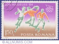 1,50 Lei 1984 - Jocurile Olimpice - Los Angeles '84 - Handbal