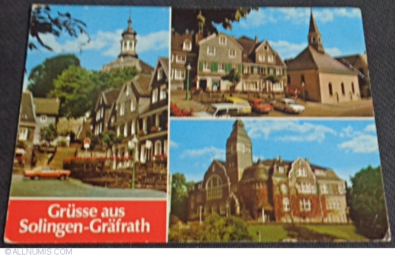 solingen 1984 solingen germany postcard 36689. Black Bedroom Furniture Sets. Home Design Ideas