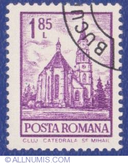 1.85 Lei -  Cluj - St Michaels Cathedral