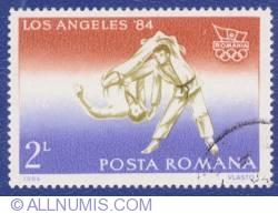2 Lei 1984 - Jocurile Olimpice - Los Angeles '84 - Judo
