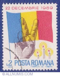 Imaginea #1 a 2 Lei 1990 - 22 Decembrie 1989