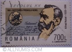 700 Lei 1998 - Alfred Nobel