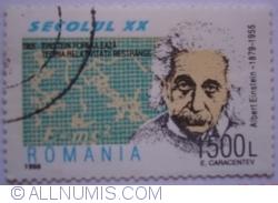 1500 Lei 1998 - Albert Einstein