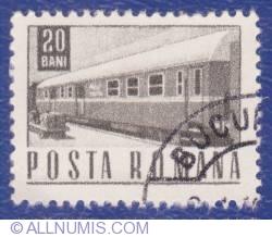 20 Bani 1967 - Vagon de tren
