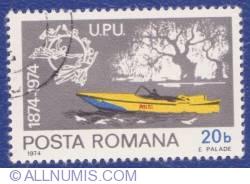 20 Bani 1974 - Centenearu U.P.U. (Universal Postal Union) (1874 -1974)