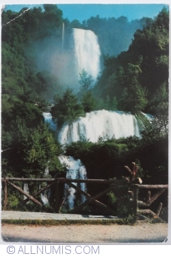 Terni - Cascada Marmore (Cascata delle Marmore) (1974)