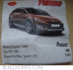 Imaginea #1 a 145 - Peugeot 508
