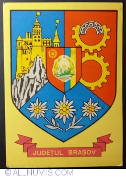 Image #1 of The Arms of Brașov County