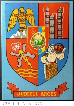 Image #1 of The Arms of Argeș County