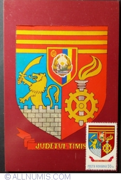 The Arms of Timiș County