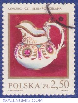 Image #1 of 2,50 Złote 1981 - Korzec around 1820 china