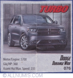 Image #1 of 076 - Dodge Durange Wide