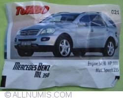 021 - Mercedes Benz ML350