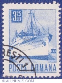 "3.25 Lei - Passenger ship ""Transilvania"""