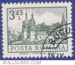 3.45 Lei - Sinaia - Peles Castle