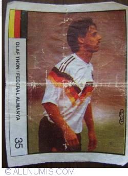 35 - Olaf Thon / German Federal Republic