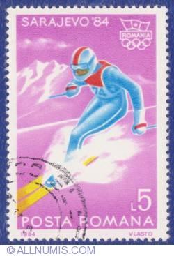 5 Lei 1984 - Jocurile olimpice de iarnă - Sarajevo '84 - Schi coborâre