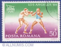50 Bani 1984 - Jocurile Olimpice - Los Angeles '84 - Box