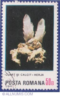 Imaginea #1 a 50 Bani - Cuarţ şi calcit - Herja