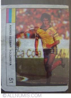 51 - Andres Escobar / Columbia