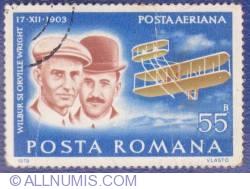 55 Bani - Wilbur şi Orville Wright
