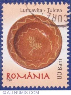 80 Bani - Ceramică - Luncaviţa (Tulcea)