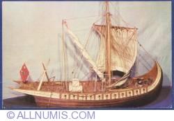 Image #1 of Romanian Navy Museum - Moldavian sailing ship XV - XVII century (model)