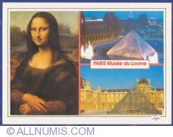 Imaginea #1 a Paris - Muzeul Louvre (Gioconda - Leonardo da Vinci, Piramida - Arhitect I.M.Pei)