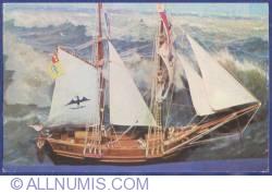 "Image #1 of Romanian Navy Museum - The romanian merchant ship ""Marita"" built at Giurgiu in 1833 (model)"