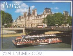 Imaginea #1 a Paris - Sena, Podul Arcole şi Hôtel de Ville