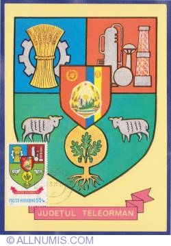 Teleorman County Coat of arms (1979)