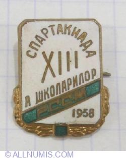 Imaginea #1 a A 13-a spartachiada a scolarilor 1958